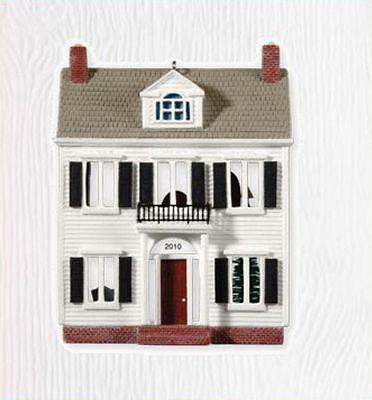 2010 HALLMARK Ornament NOSTALGIC House Shops ~ COLONIAL ...