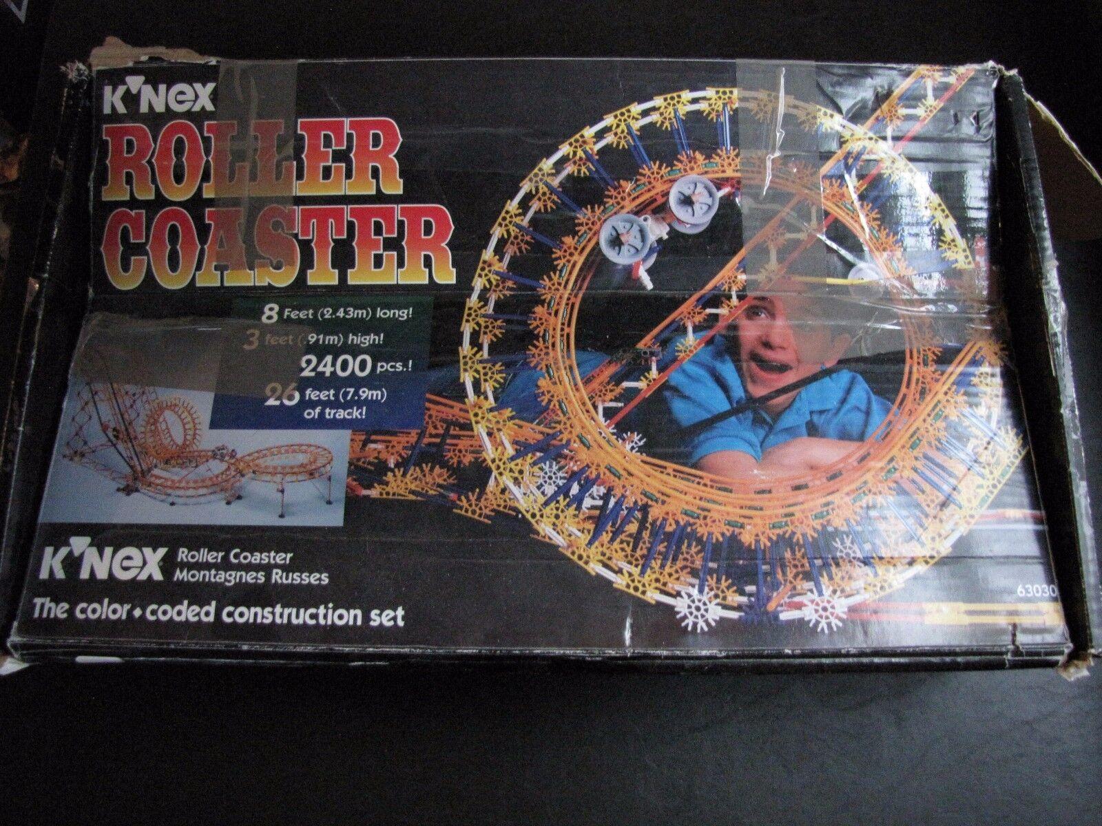 K'nex  Roller Coaster Building Set Rare - parts pieces only