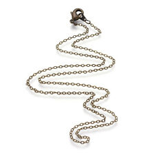 7 7//8 inches 20cm - 6pcs Antique Bronze Lobster Clasp Link Chain Bracelets