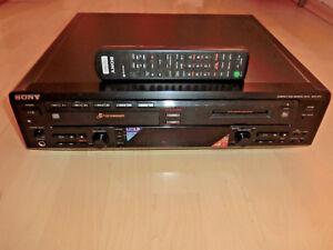 Sony MXD-D5C 5-fach CD-Wechsler & MiniDisc-Recorder, generalüberholt 2J.Garantie
