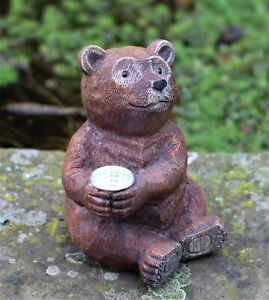 Garden-Solar-Ornament-Bear-Sitting-Decorative-Light-Up-Outdoor-Indoor