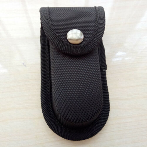 Plier Torch Tool Fold Sheath Belt Black Nylon Pouch Bag Carry Case Practical