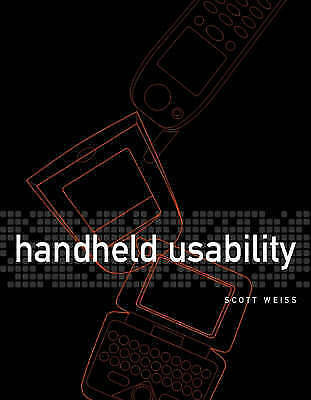 1 of 1 - Handheld Usability (Electrical & Electronics Engr), Weiss, Scott, Used; Very Goo