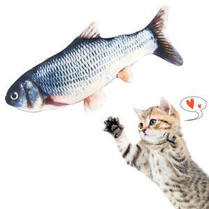 Elektrische Simulation Fisch Haustier Katze Spielzeug Kinder Spielzeug USB Lade