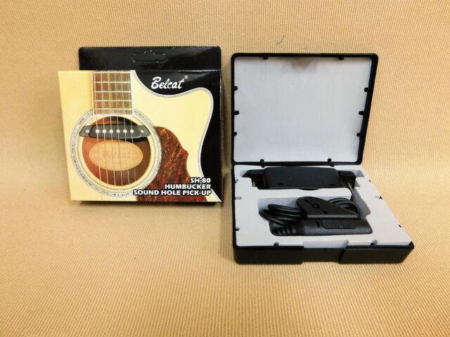 Belcat SH80 Magnetic Humbucker Soundhole Pickup for Acoustic Guitars