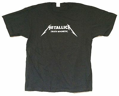 Metallica Coming Soon Death Magnetic Coffin Mens Black T Shirt New Official