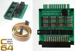 Faszination-C64-Parallelkabel-fuer-Commodore-64-mit-Portschutz-amp-Reset-1805