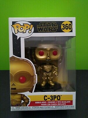 Brand New In Box Funko POP Star Wars: Rise of Skywalker-C-3PO Red Eyes