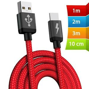 USB-Cable-For-Apple-iPhone-6s-7-8-6-5s-X-Long-Charger-Charging-Fast-Lead-2m-3m