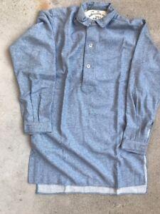 US-Army-M1874-Blue-Gray-Wool-Shirt-Size-42