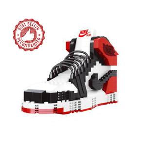 New BIG LEGO Sneaker Air Jordan Black