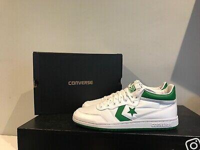 Converse Fastbreak 83 Mid Mens Shoe Size Uk 10 Green White 156973C New In Box | eBay