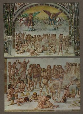 ORVIETO. Duomo. Cappella San Brizio. Luca Signorelli Postcards Unused ART L.32