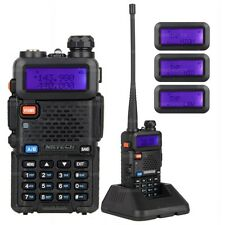 NKTECH UV-5R PLUS Tri-Power 8W 4W 1W Dual Band VHF UHF Funkgerät Walkie Talkie