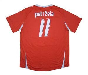 FC Viktoria APB 2007-08 Authentic Home Shirt petzrela #11 (eccellente) XL