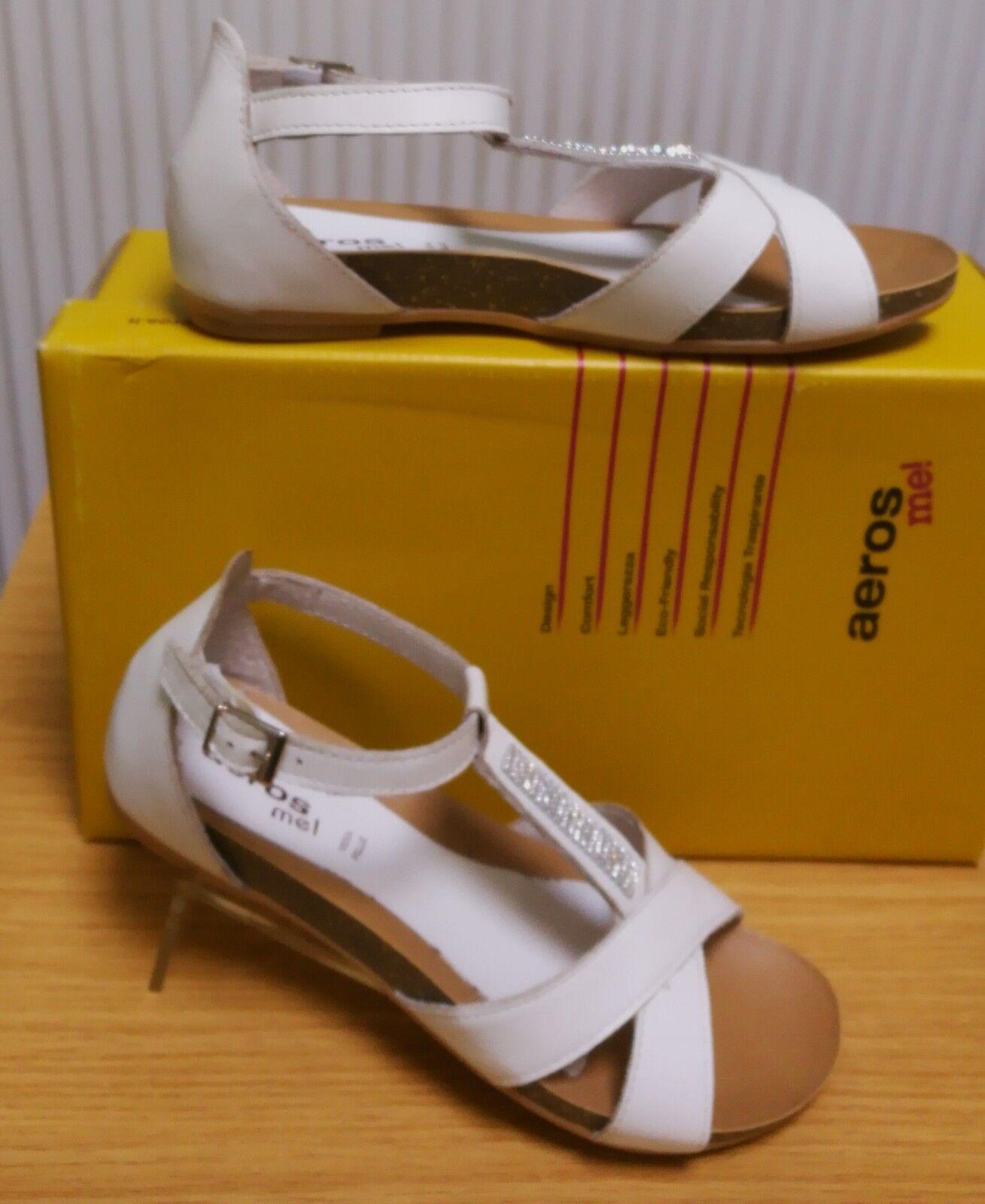 Damen-Sandale, weiß, weiß, Damen-Sandale, NEU, Größen 36, 38 aa3bcf
