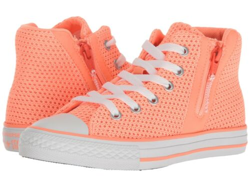 656059F Converse CTAS Sport Zip Sunset Glow//Hyper Orange//White PS//GS