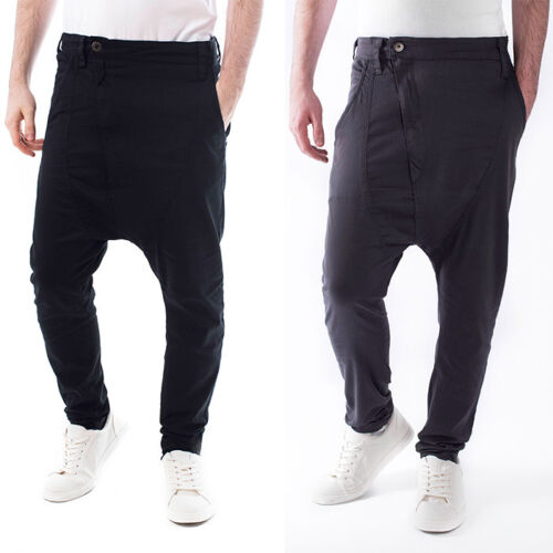 Hommes Soulstar Chino d/'Entrejambe Tombant Élastique Casual Homme