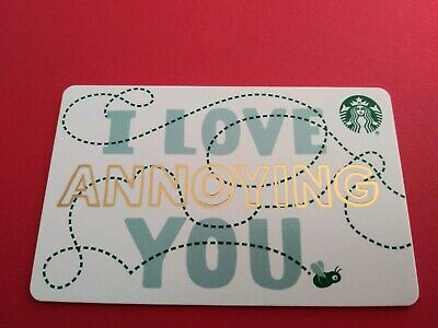 """Starbucks gift card 2019 /""""THANKS FOR BEING YOU/"""" New No Value"""
