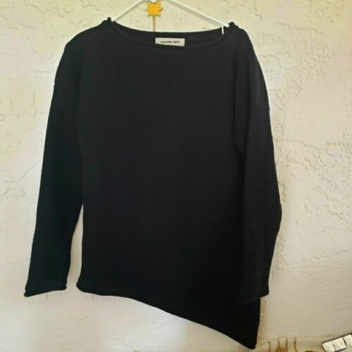 Anthropology Sunghee  Asymmetrical Wool Sweater