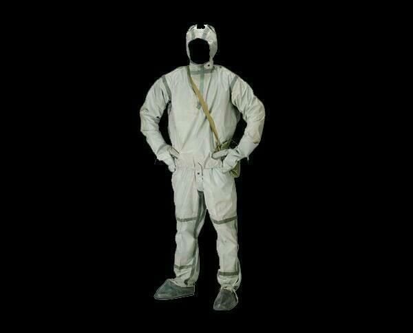 Soviet USSR Russian Army Protective Suit L-1 NBC Chemical Radioactive Size 1-4