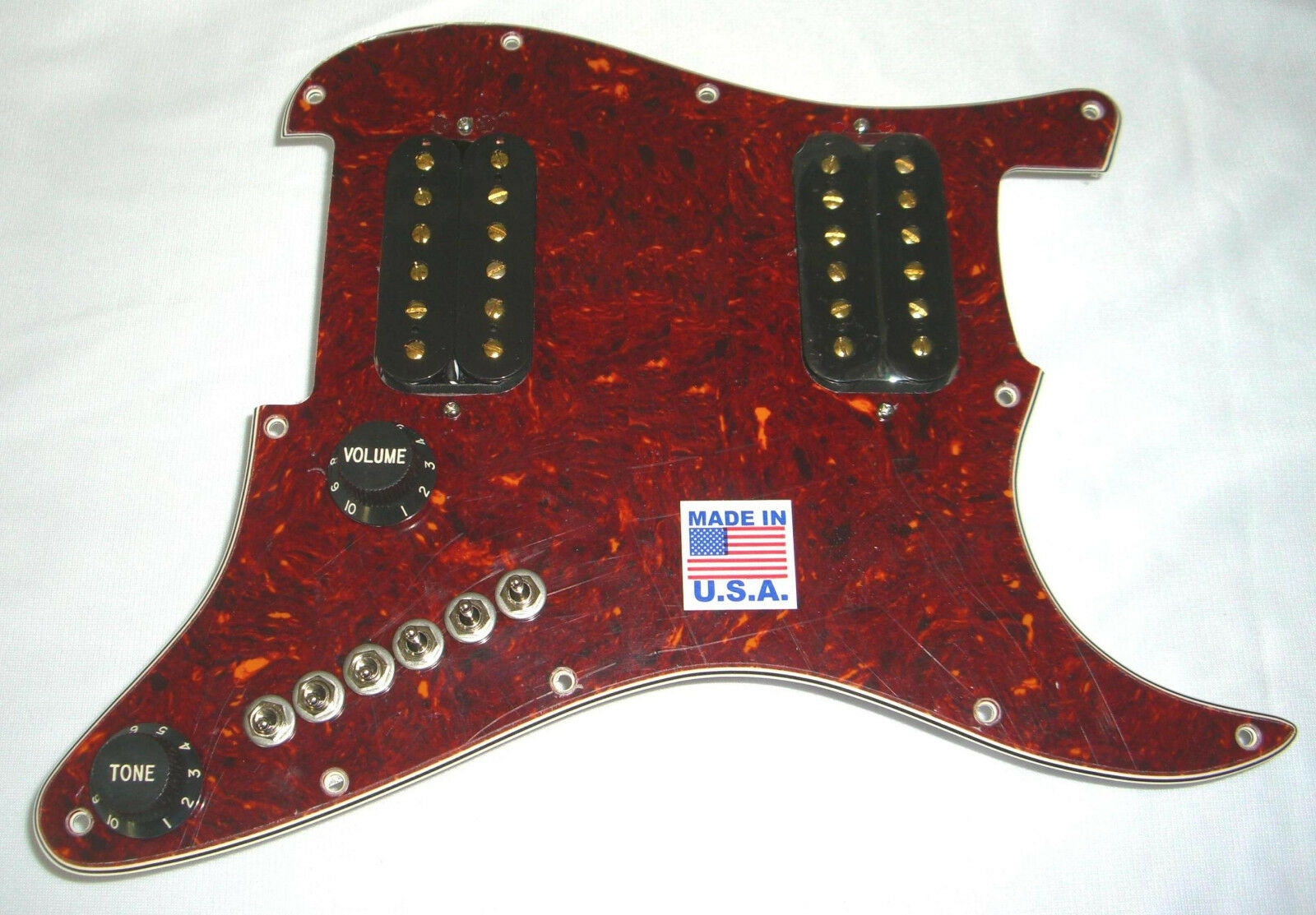 Get 13X MORE Blaus Jazz Metal Country Tones Upgrade Fits Fender HH Stratocaster