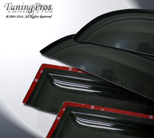 For 11-16 Toyota Sienna 2.0mm Outside Mount Rain Guard Wind Deflector Visor 4pcs