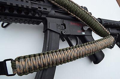 """60/"""" Tactical Paracord Gun Rifle Bow Shotgun Sling 1 or 2 Point w//QD CAMO PINK"""