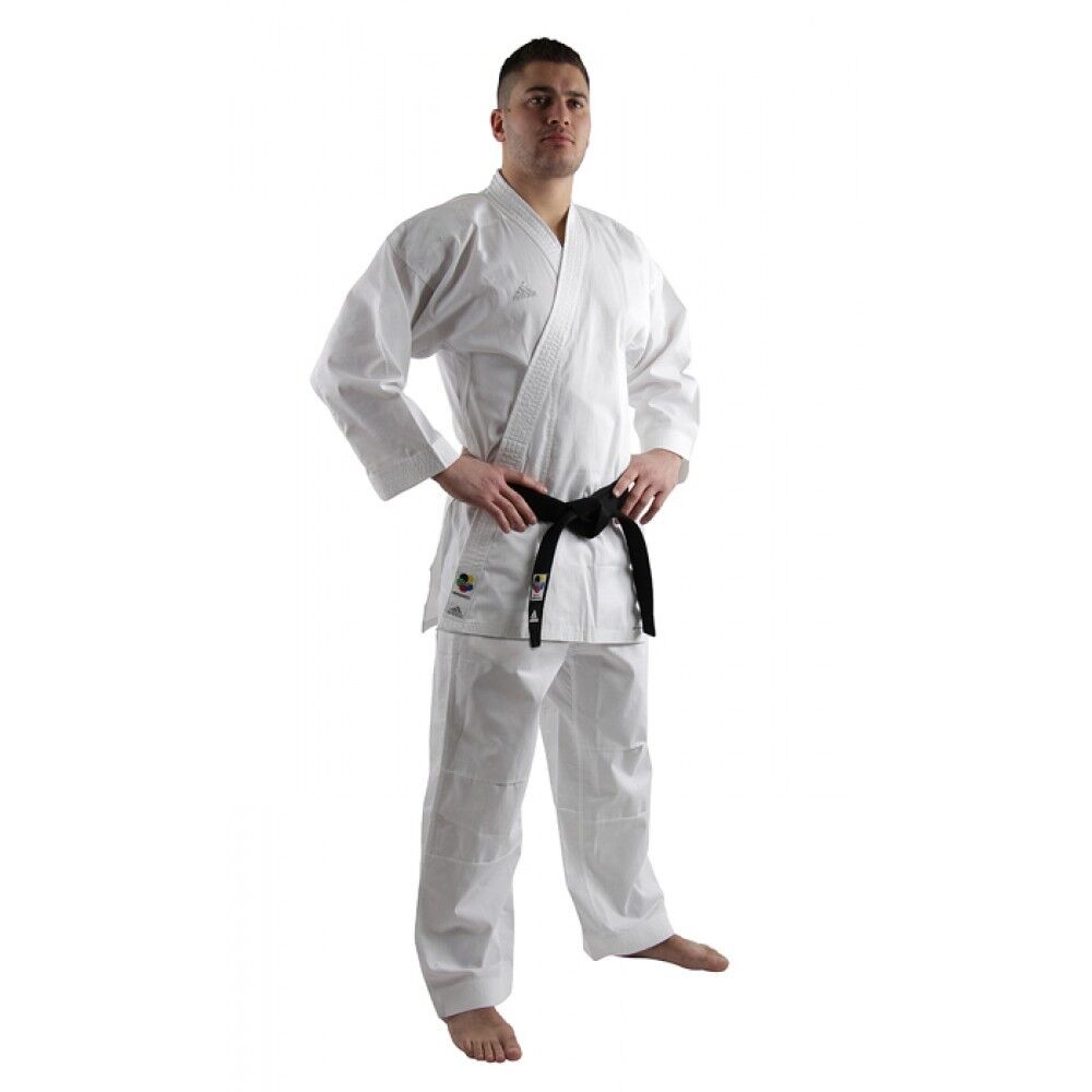 Adidas Karate Gi Adult Mens Suit Uniform WKF Approved 160 170 180 190 Kumite 8oz