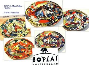 ZOO-BOPLA-Porzellan-XXL-MAXITeller-Pizzateller-Platzteller-EssTeller-31cm-Platte