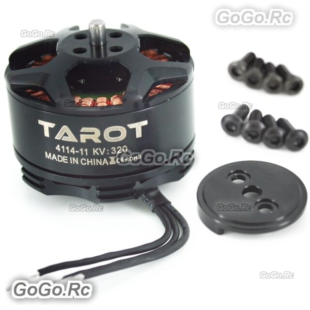 Tarot 4114 320KV 6S HEXA drone multi rotor brushless motor Black - TL100B08-01