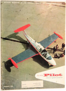 AOPA Pilot, Aug. 1959, Beech Looks After Its Own, Hypoxia, Omnigation, Vortices