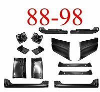 88 98 14pc Extended Cab Corner, Rocker & Floor Kit, Chevy Gmc Truck 1.2mm Thick