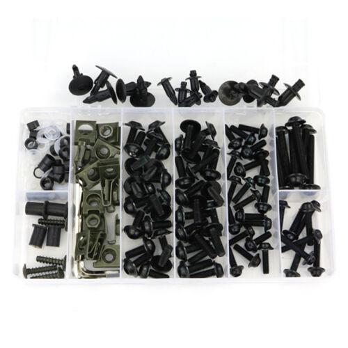 Complete Fairing Bolt Screws Bodywork Kit For Yamaha YZF R6 2003 2004 2005 Black