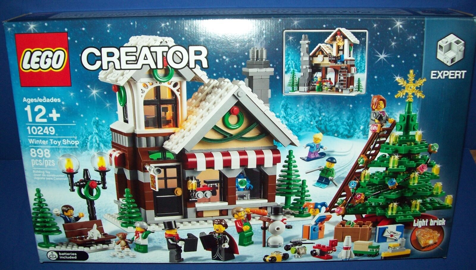 LEGO Creator 10249 WINTER TOY SHOP  Factory Sealed  EXCLUSIVE Christmas  HTF