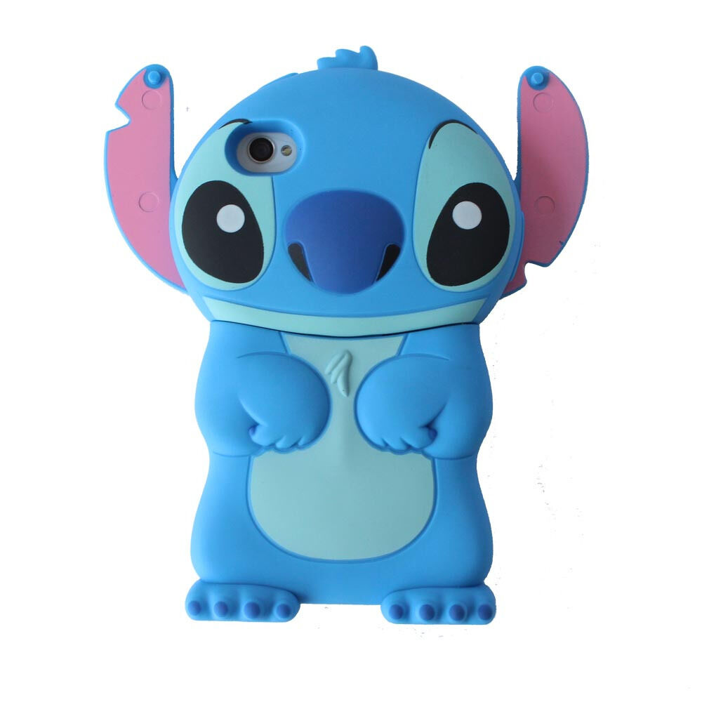 3D Stitch Silicone Phone Case Cover For iPhone 11 12 Pro Max XR 5 ...