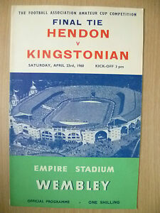1960-Amateur-Cup-FINAL-HENDON-v-KINGSTONIAN-23rd-April