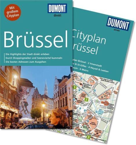 1 von 1 - Brüssel Belgien UNGELESEN Reiseführer + Karte 2015 Dumont direkt Stadtplan