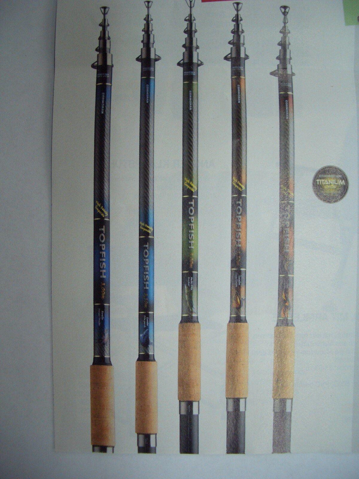 Cormoran Topfish Rute Tele Hecht, 3,60m, 40-80g, Teleskoprute