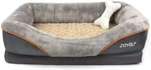 JOYELF-Orthopedic-Dog-Bed-Memory-Foam-Pet-Bed-with-Removable-Washable-Cover-M-amp-L