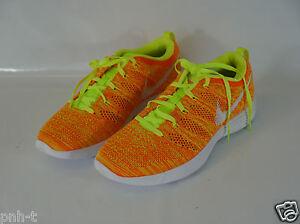 Bnib 9 40 Us 5 da Scarpe Eur 6 donna 5 Flyknit Uk Nike Orange da ginnastica wwFqP0Hz