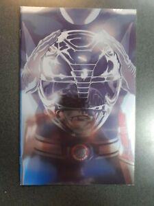 MIGHTY MORPHIN POWER RANGERS #41 Red Ranger Foil Variant Boom Comic Book NM HOT