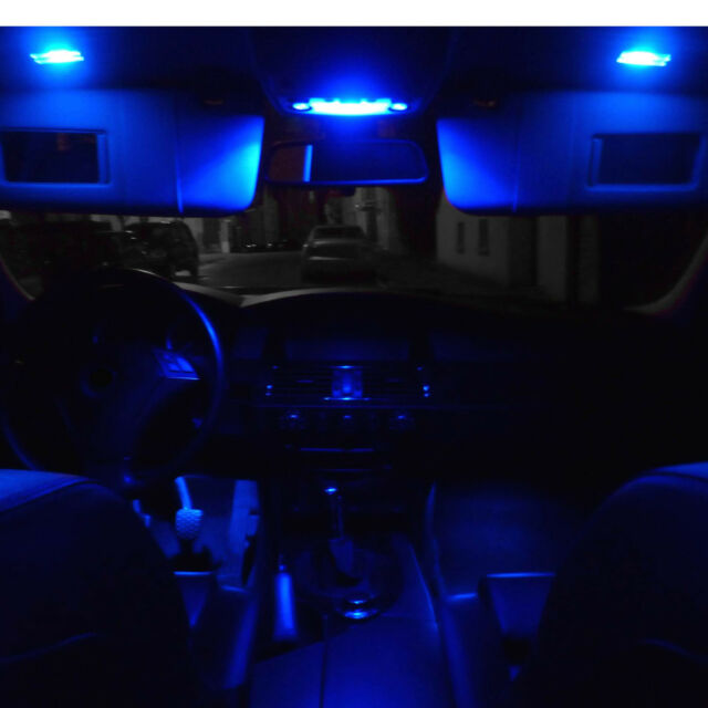SMD LED Innenraumbeleuchtung Audi A4 B5 8D Vorfacelift Limo blau Limousine Set