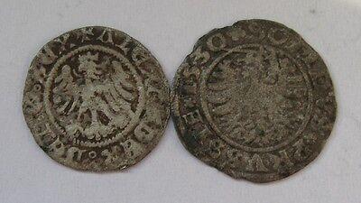 Poland Zygmunt I  1530 solid Danzig Rare  + Alexander
