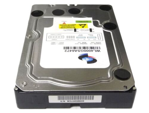 "NAS CCTV New 4TB 64MB Cache 7200RPM SATA 6G//bs 3.5/"" Internal Hard Drive PC"