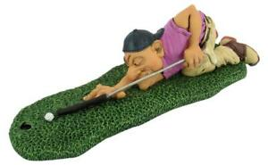 Golf Player Billiards, 22 CM Sports Funny Figurine Collection, New