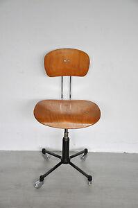 original egon eiermann stuhl wilde spieth drehstuhl b rostuhl rarit t selten ebay. Black Bedroom Furniture Sets. Home Design Ideas