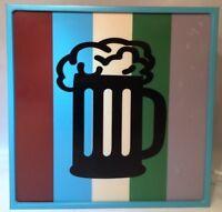 BEER MUG Bar Light by ICON Shelf or Wall Mount RARE 2001 Older Beer Night Light