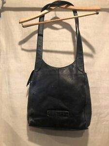 Image Is Loading The New American Classic Black Leather Fossil Handbag