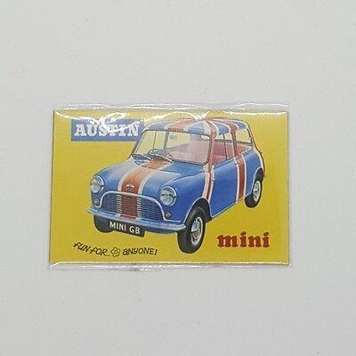 AUSTIN MINI POSTER funny pic Design Vintage Poster Magnet Fridge Collectible